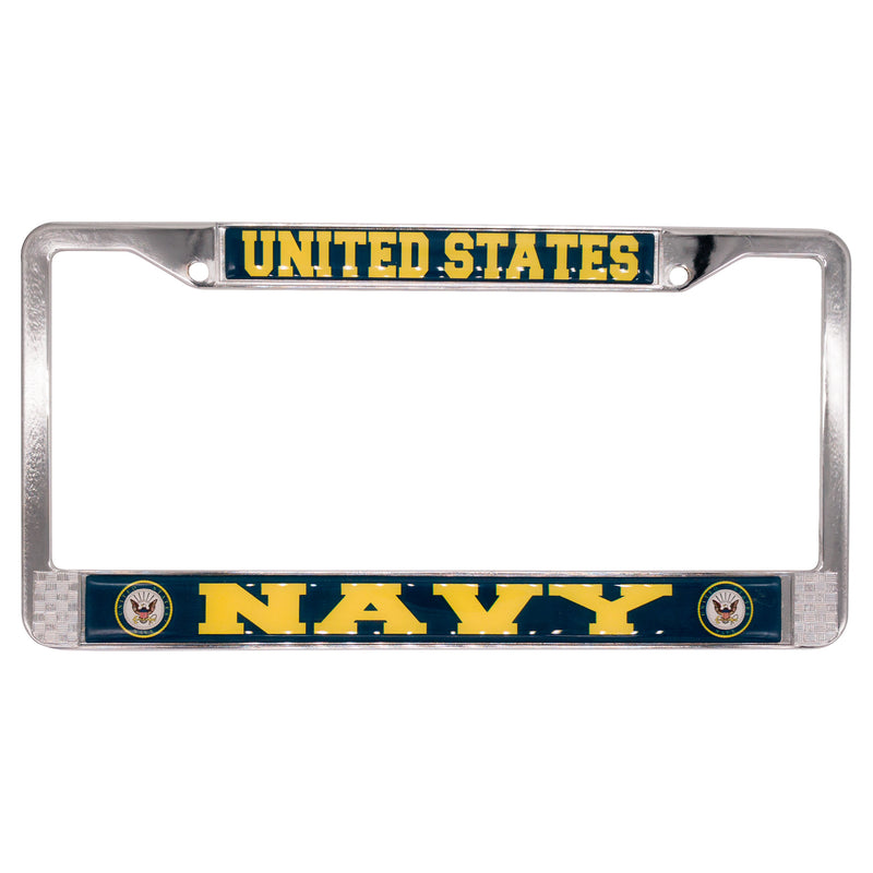 U.S. NAVY LICENSE PLATE FRAME - UNIFORMED®