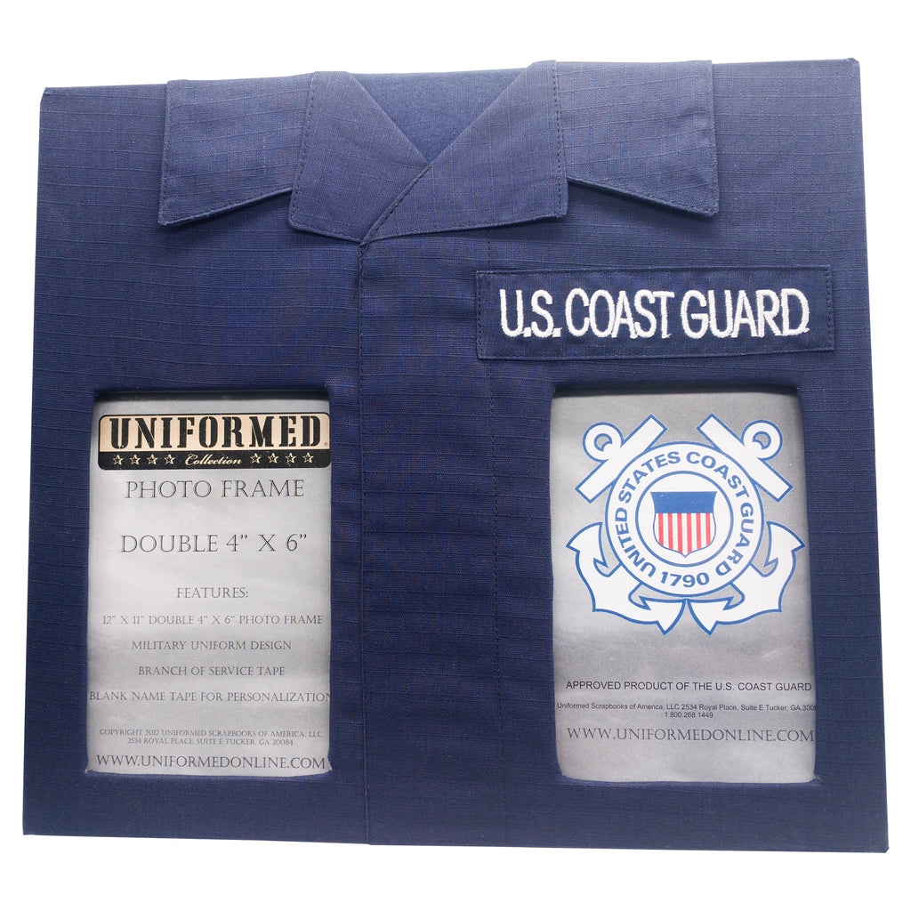 COAST GUARD DOUBLE PICTURE FRAME - UNIFORMED®
