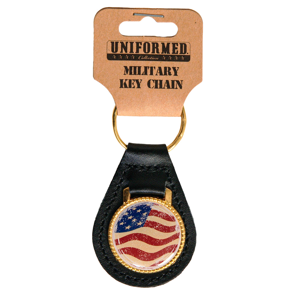 USA FLAG METAL KEY CHAIN - UNIFORMED®