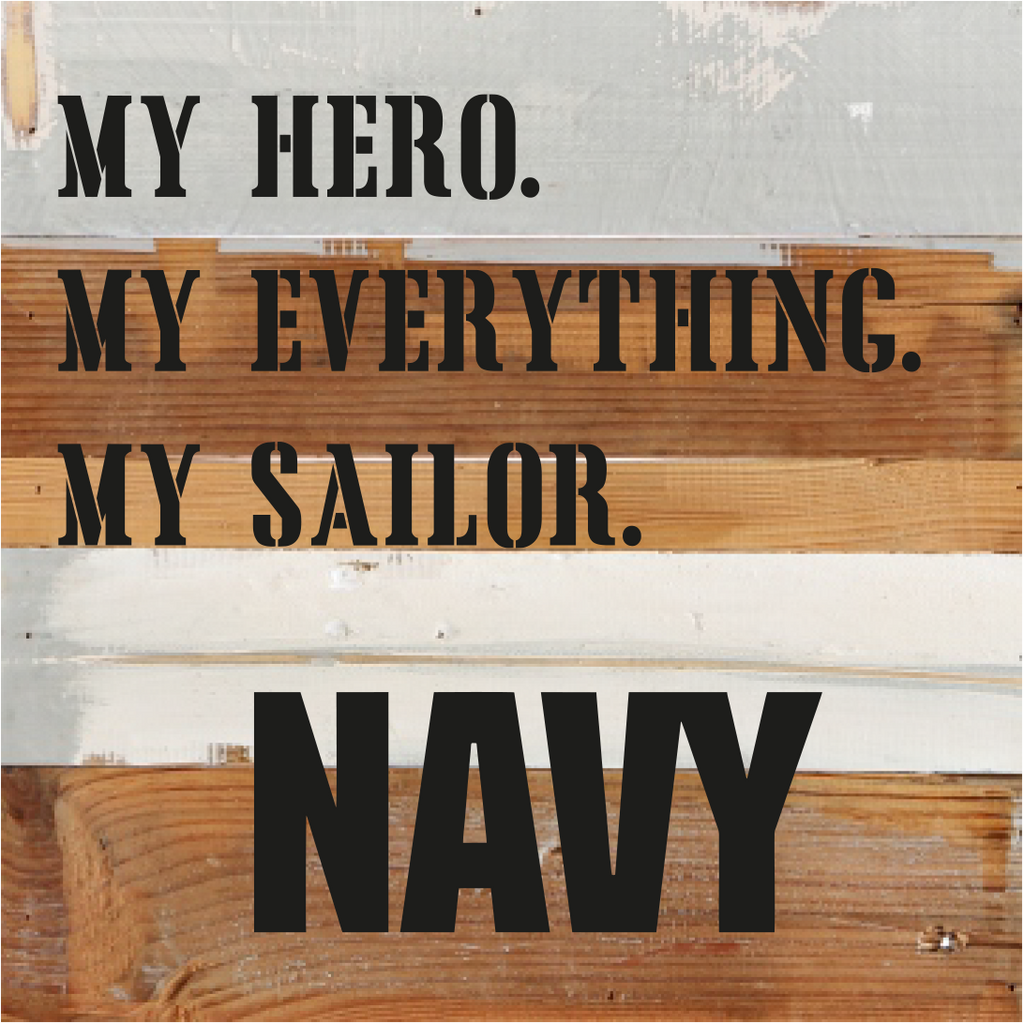 8x8 MY HERO - NAVY - UNIFORMED®