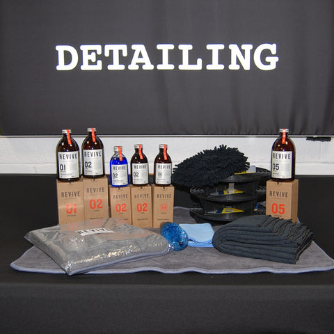 REVIVE Detailing starter kit, all you need for the basics in an affordable package.