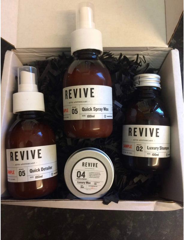 Revive Sample Box with Luxury Wax