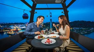Cable Car Dining In Mount Faber