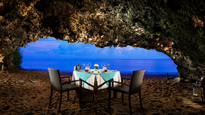 Romantic Private Cave Dinner In Nusa Dua