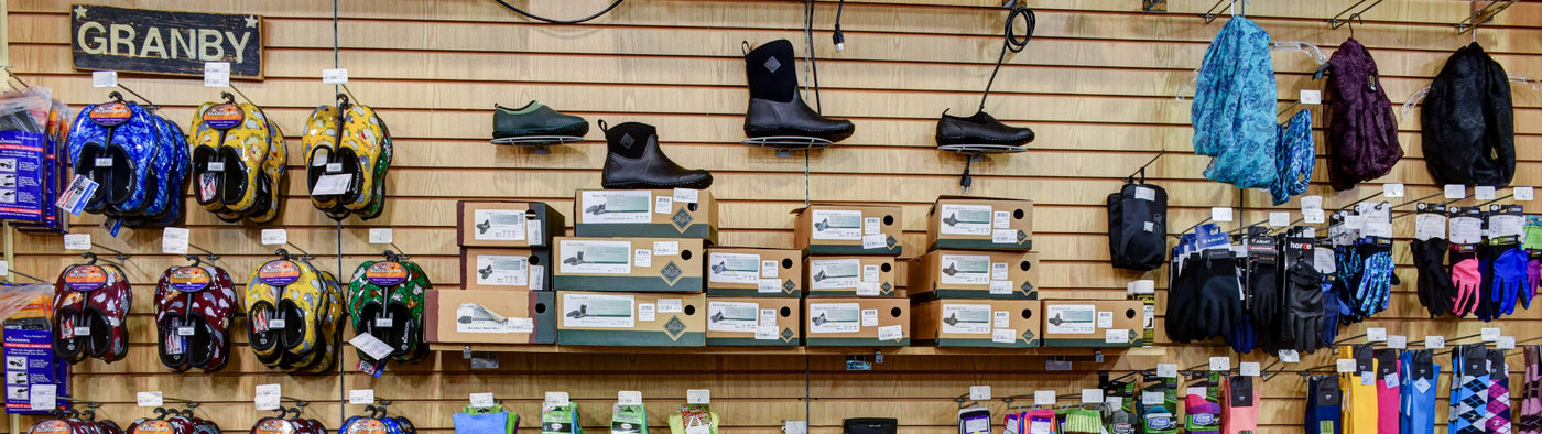 We Proudly Carry Muck Boots