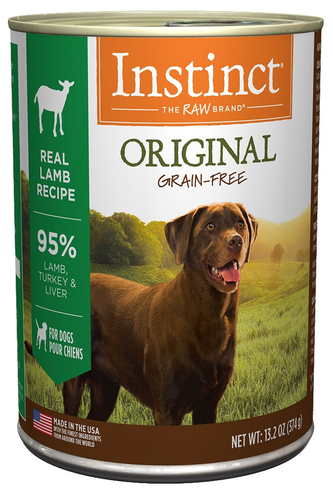 Nature's Variety Instinct Grain-Free Lamb Formula Canned Dog Food