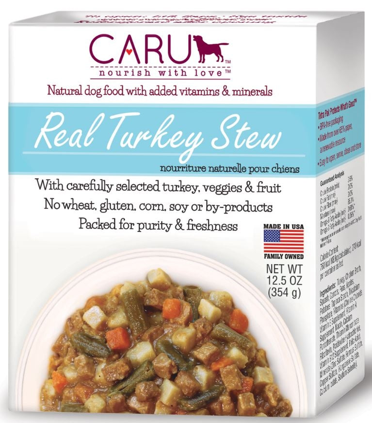 Caru Grain Free Real Turkey Stew Canned Dog Food