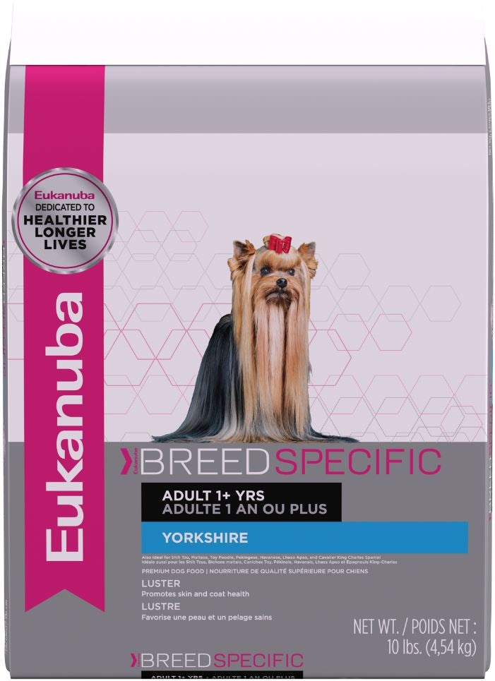Eukanuba Breed Specific Adult Yorkshire Terrier Dry Dog Food