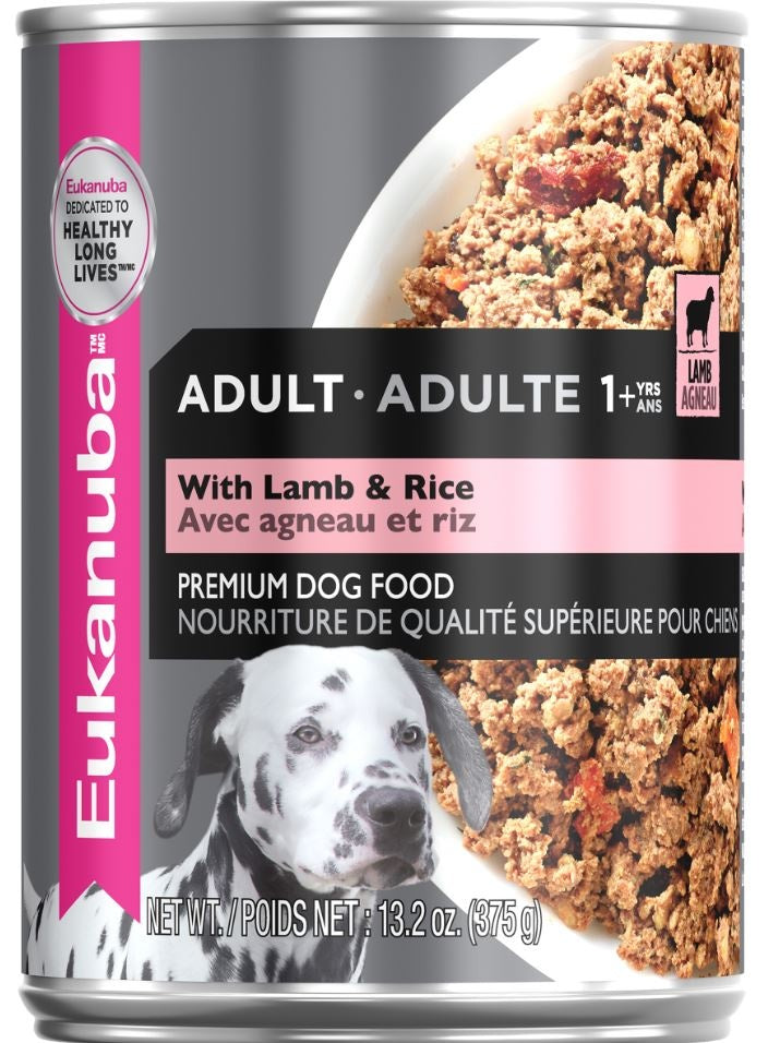 Eukanuba Adult Lamb and Rice Dinner Canned Dog Food