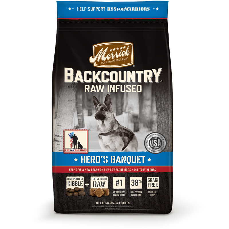 Merrick Backcountry Grain Free Hero's Banquet Dry Dog Food