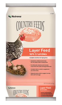 Country Feeds Layer 16% Crumble