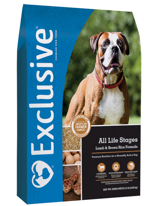 Exclusive All Life Stages Lamb & Brown Rice Formula