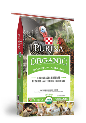 Purina® Organic Scratch Grains