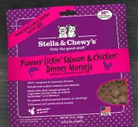 Stella and Chewy's Yummy Lickin' Salmon & Chicken Freeze-Dried Dinner