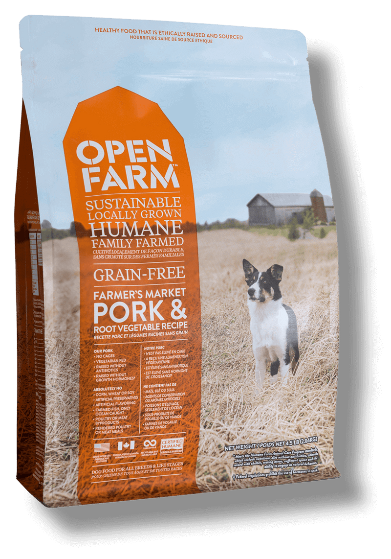 Open Farm Grain Free Farmer's Table Pork and Root Vegetable Recipe