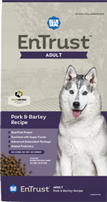 Blue Seal EnTrust Adult - Pork & Barley Recipe