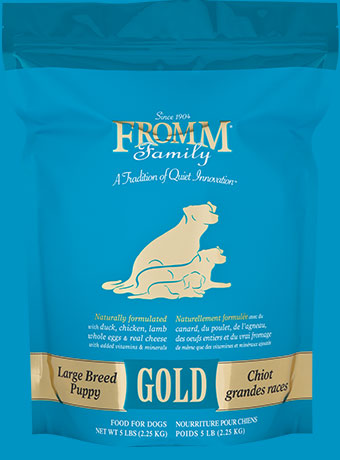 Fromm Family Large Breed Puppy Gold Food