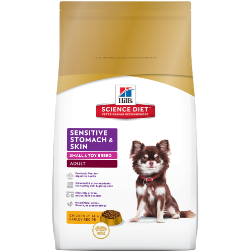 Hill's® Science Diet® Adult Sensitive Stomach & Skin Small & Toy Breed Dog Food