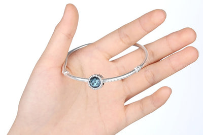RADIANT HEARTS Crystals, 925 Silver, Clear CZ