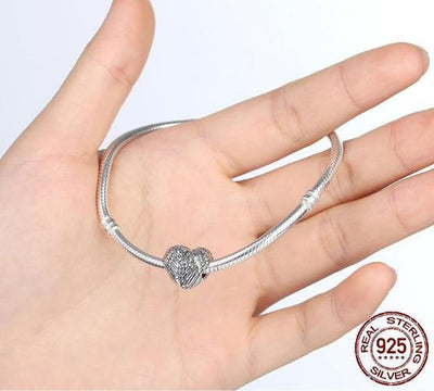 Angelic Feathers Charm, 925 Silver
