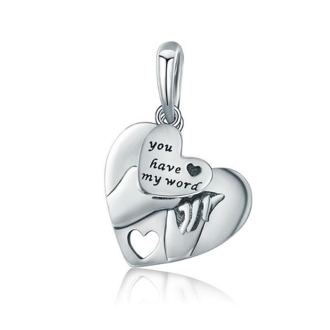 You Have My Word, Dangle Charm, 925 Silver