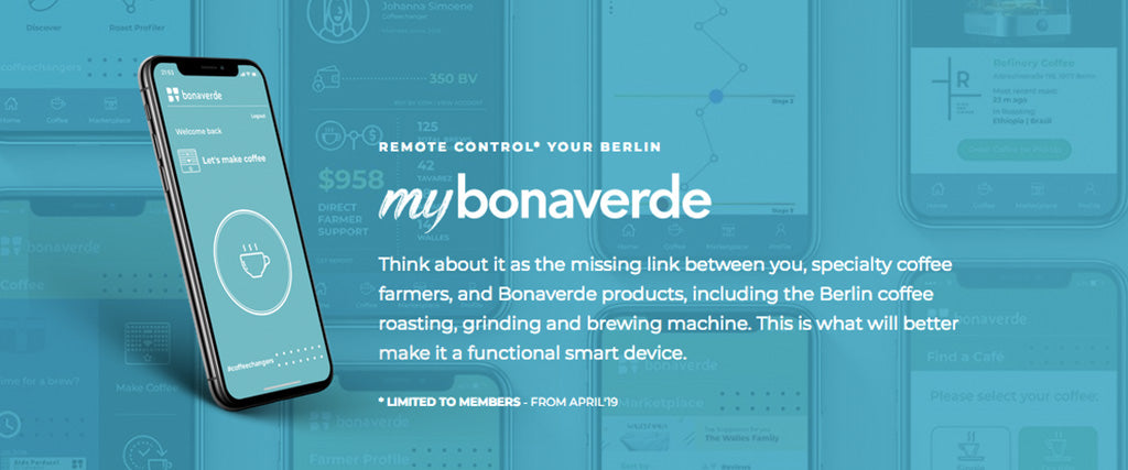 Get myBonaverde: Your Berlin's New App!