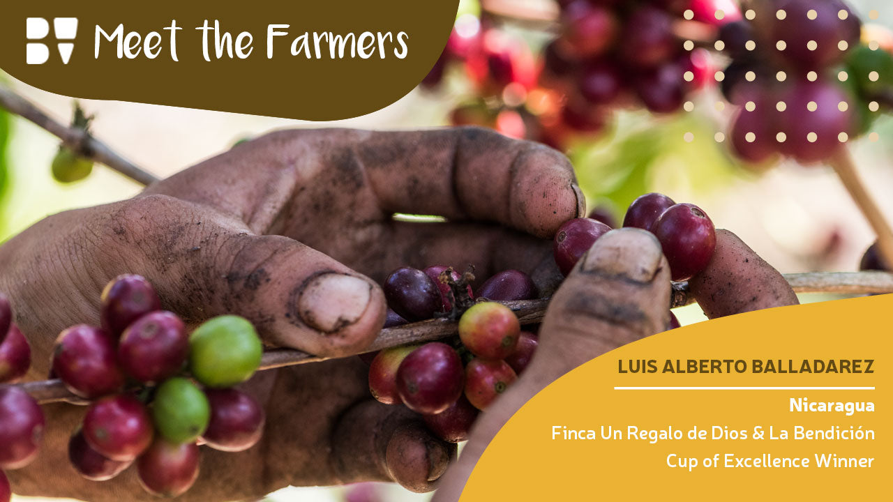 Meet the Farmer - Luis Alberto Balladarez Moncada