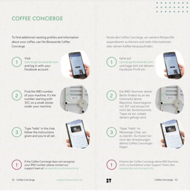 Can I connect my Bonaverde Berlin through wifi or bluetooth? Coffee Concierge