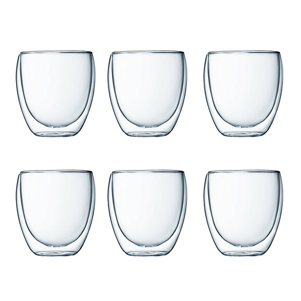 Bonaverde Coffee Glasses (Set of 6)