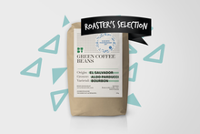 Las Brumas Green Coffee Beans. El Salvador. Farmer Parducci - Roaster´s Selection