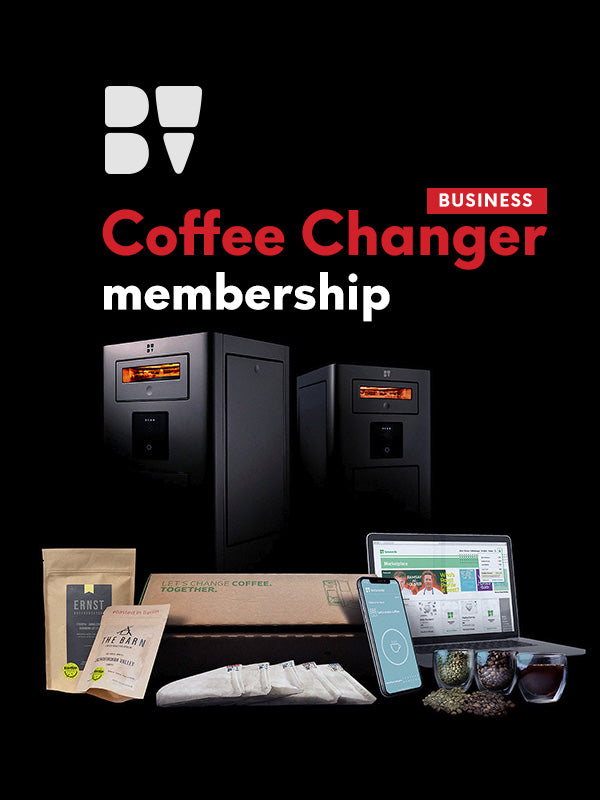 Coffee Changer Membership for Business