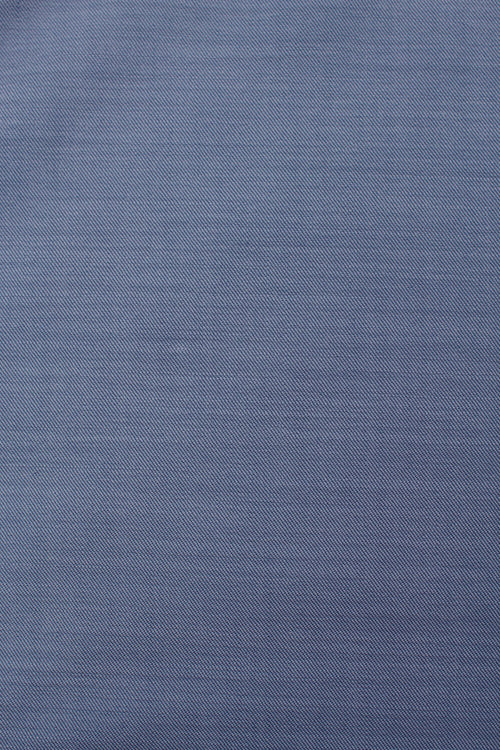 100% woven merino wool 16,5 micron blue color