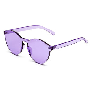 Cat Eye Transparent Sun glasses