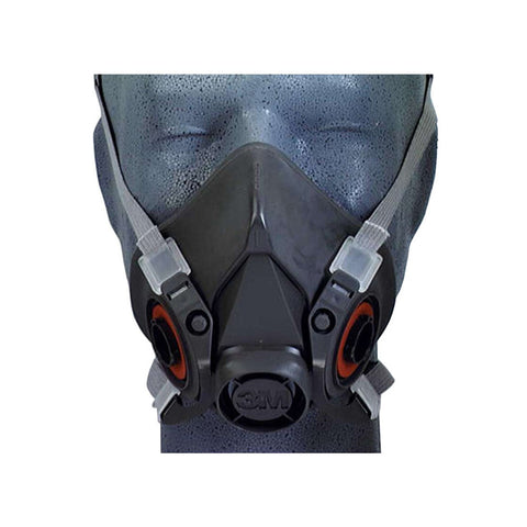06962 / 06963 Half Face 6000 Series Low Maintenance Respirator M/L (Without Filters)