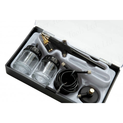 FMT2138 Suction Type Airbrush in Case, 1/8 thread