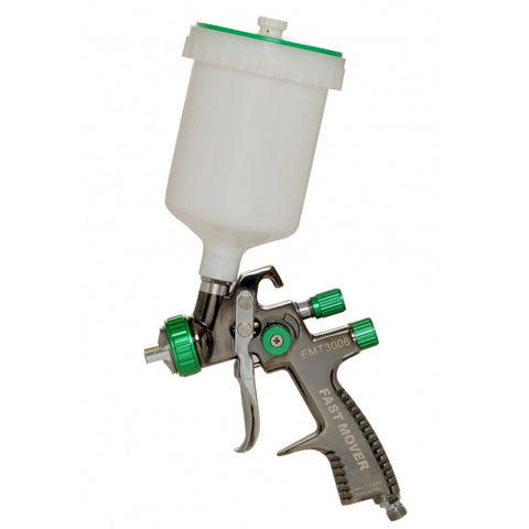 FMT3006/1.3, FMT3006/1.4, FMT3006/1.8 LVLP Gravity Spray Gun 1.3mm-1.8mm, 600cc Pot