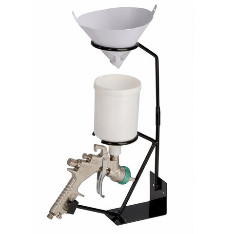 FMT5000 Bench Mounted Spray Gun Holder With Filter Cradle