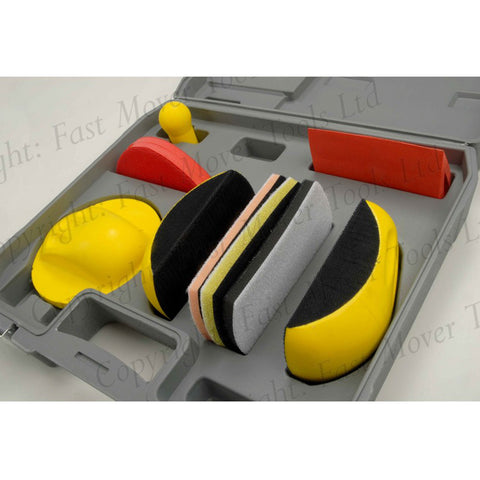 FMT5530 Sanding Kit Detailing Type in Case, 7pcs
