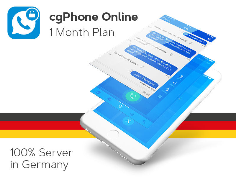 cgPhone Online - 1 month subscription plan (electronic delivery) (Limited Promotion until December 2018)