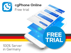 cgPhone Online - 30 days - free trial (electronic delivery)