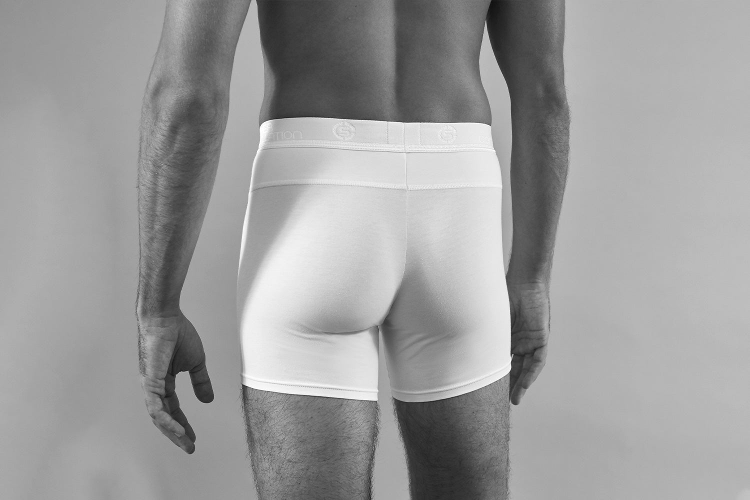 Sir George - Functional Boxer Brief - White - Detail