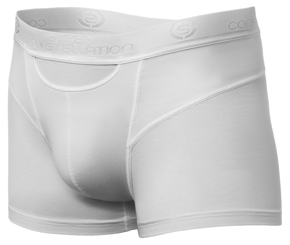 Sir George Shorty - Functional Boxer Shorty - White - Main