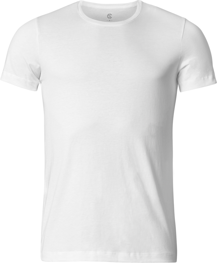 Sir Max - Round-Neck Quality T-Shirt - White - 360