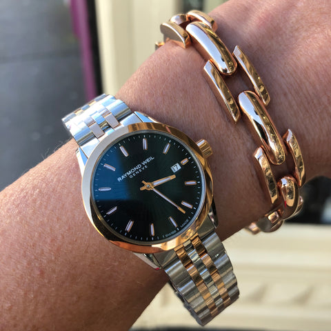 RAYMOND  bracelet WEIL Freelancer Rose gold