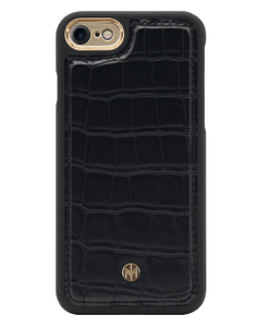 Marvelle Ballroom Black Croco Gold - iPhone 6/6S/7/8