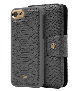 Marvelle Ash Grey Reptile Gold - iPhone 6/6S/7/8