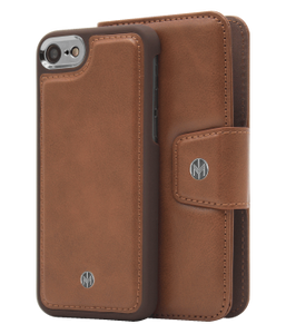 Marvelle Oak Light Brown Smooth Silver | iPhone 6/6S/7/8
