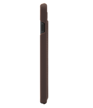 Load image into Gallery viewer, Marvelle Walnut Dark Brown Smooth Silver | iPhone 6/6S/7/8