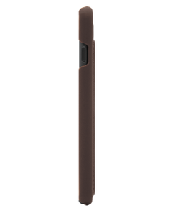 Marvelle Walnut Dark Brown Smooth Silver | iPhone 6/6S/7/8