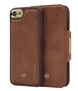 Marvelle Oak Light Brown Signature Gold | iPhone 6/6S/7/8